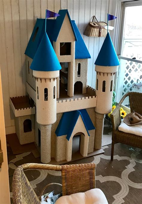 Free Diy Castle Playhouse Plans